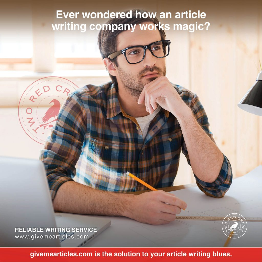 article writing company works magic