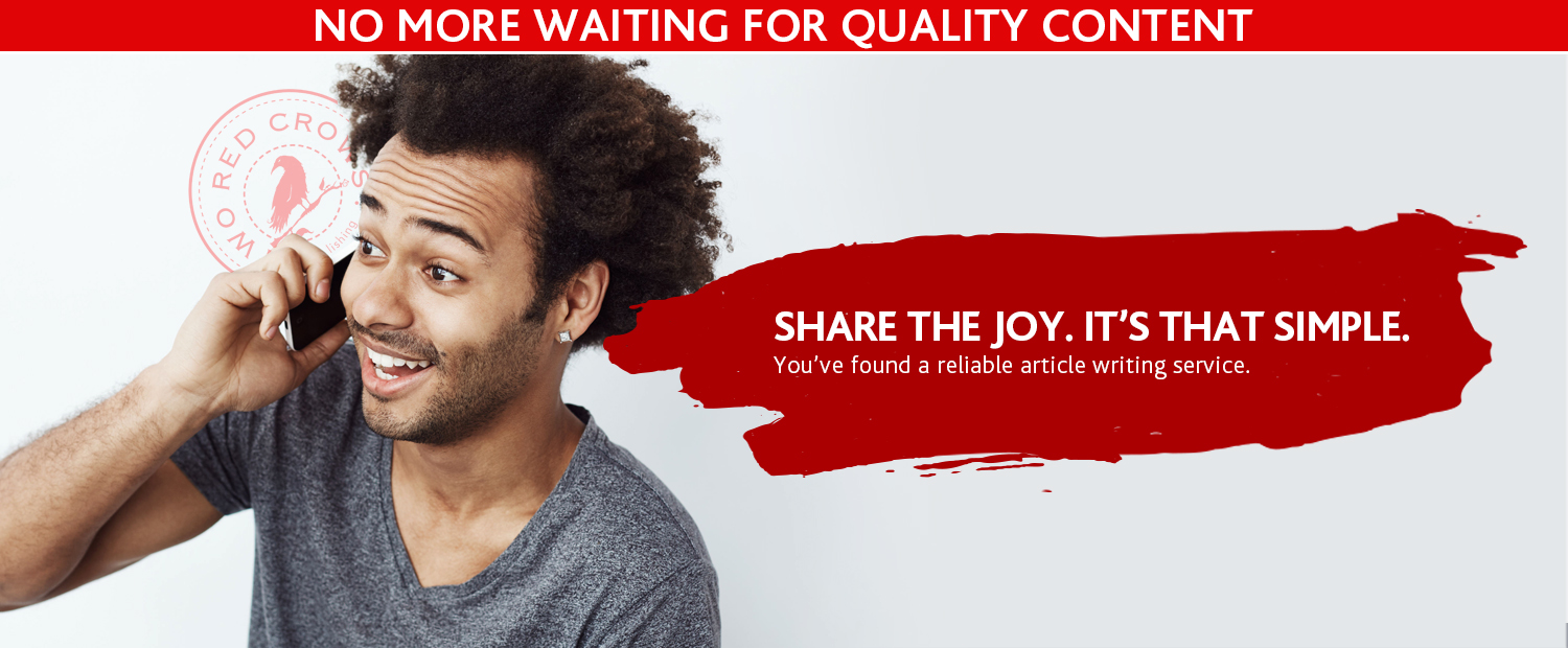 Share the joy. It's that simple.
