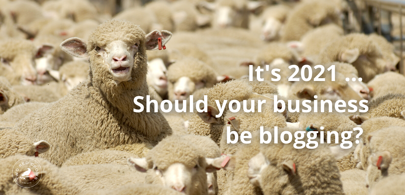 benefits of business blogging in 2020